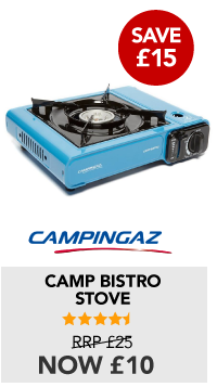 Camp Bistro now £10