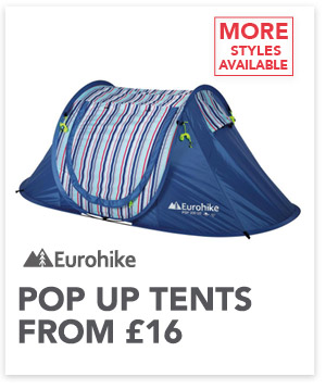 Eurohike Pop-up tents from £16
