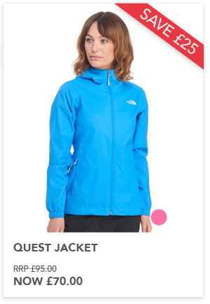 Quest jacket now £70