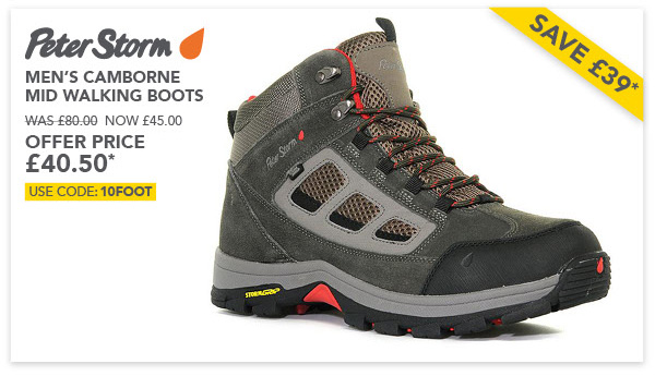 Camborne boots offer £40.50