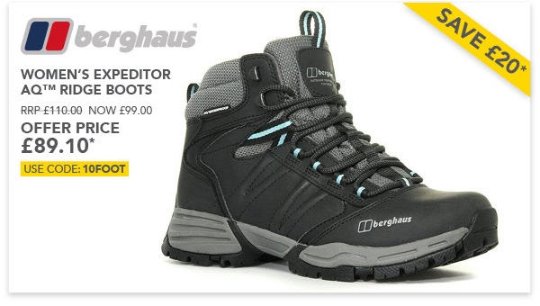 Expeditor Ridge boots offer £89.10